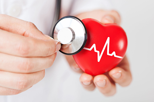 Healthiest You - Heart and Stethoscope